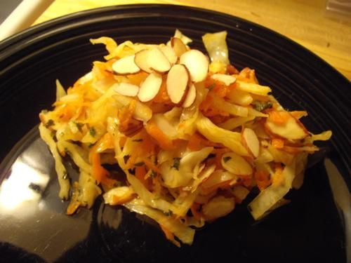 Warm Winter Coleslaw with Chili-Lime Dressing recipe