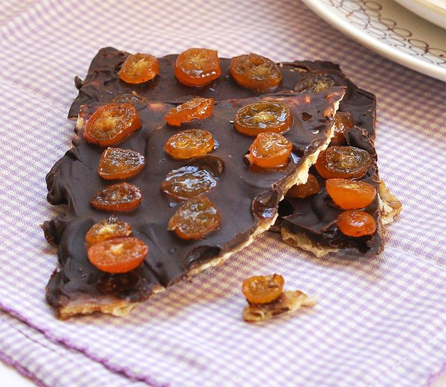 chocolate covered bananas chocolate covered caramelized matzoh crunch ...
