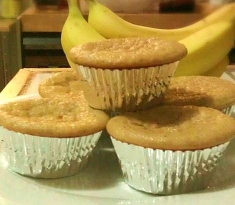 Banana Bread Protein Muffins | Breakfast Foods | Pinterest
