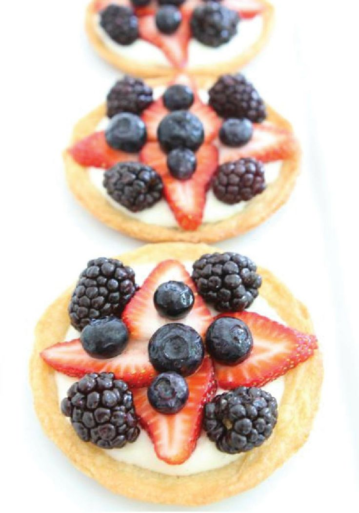 Mini Fruit Pizzas – If you grilling out, going on a picnic, or ...