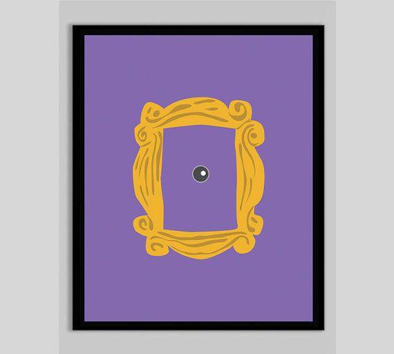 Minimalist a frame house - Printable Friends Poster Monica S Door Frame Printable