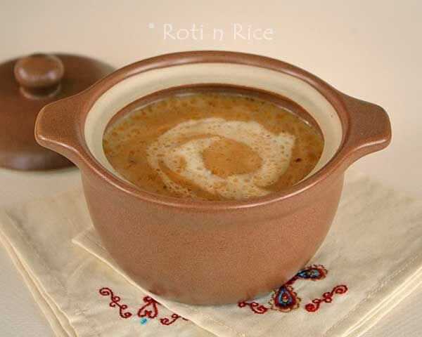 Spicy Pumpkin Soup - Roti n Rice