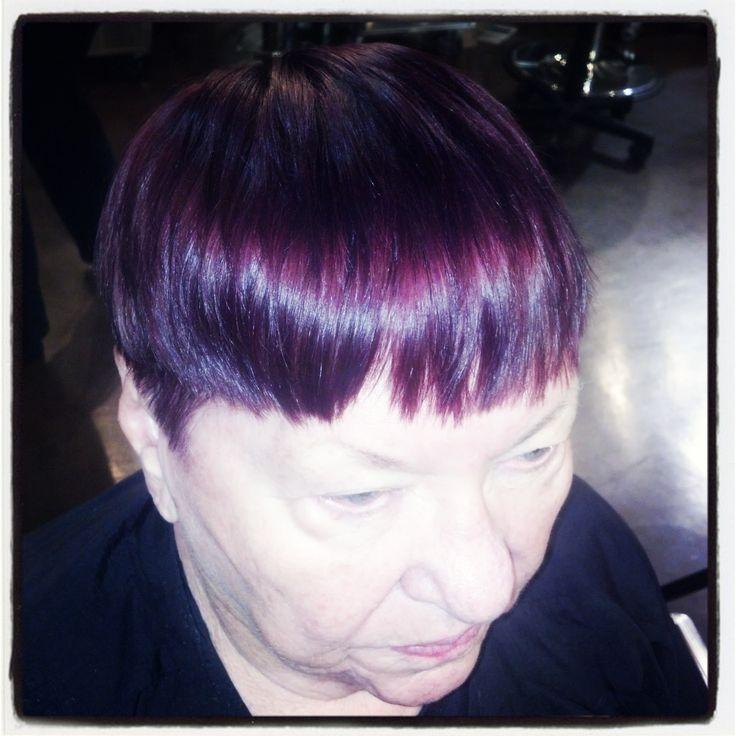 Eggplant purple hair, Aveda color | Hair (to) Dos | Pinterest