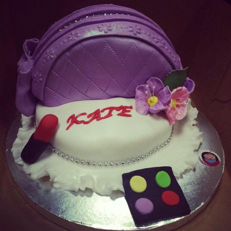 Makeup Kit Cake Images : MakeUp Kit Cake by MyCakes Cake creations Pinterest