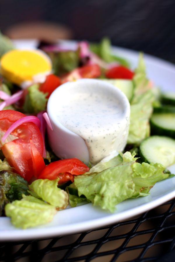 Creamy Herb Dressing | What pinterest calls paleo... | Pinterest