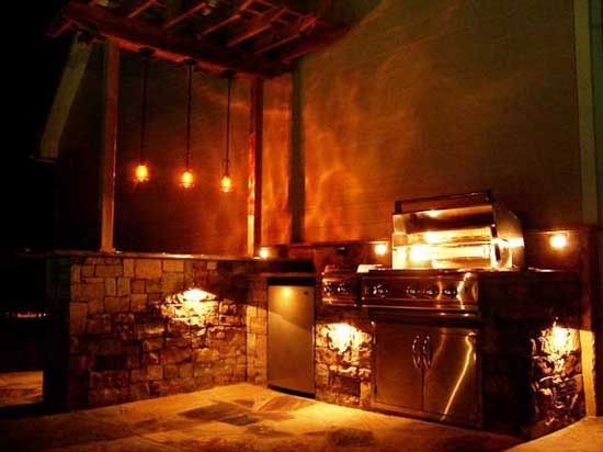 Outdoor kitchen lighting For the Home