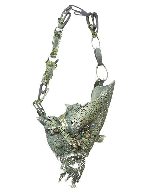 necklace by jewellery designer HANNA HEDMAN