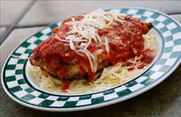 """Chicken Parmesan: """"This is one of our 'I want something different tonight' favorites. So VERY good!"""" -MizzNezz"""