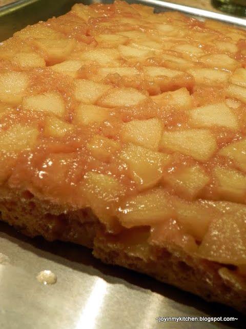 Caramel Apple Upside Down Cake | Recipes | Pinterest