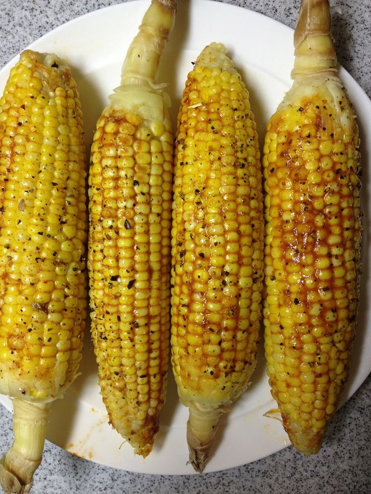 Mexican Chile-Lime Adobo Corn on the Cob | Vegan Food | Pinterest
