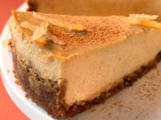 Pumpkin Cheesecake with Gingersnap Crust | Recipes I'd like to try ...
