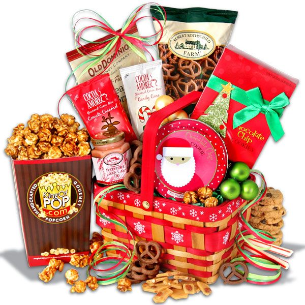 Holiday sweets amp treats gift basket http www offers com