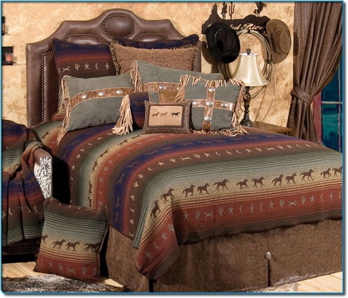 Pin by bettye johnson on western style furniture pinterest for Western style beds