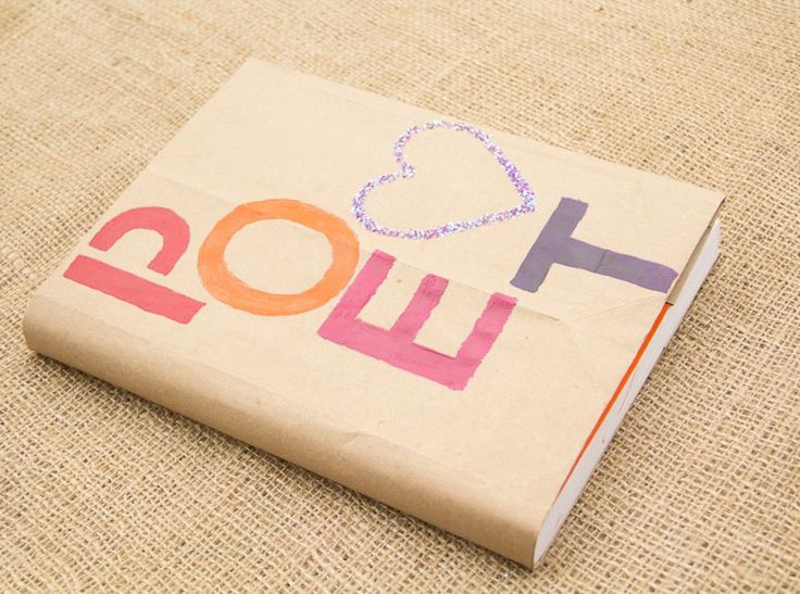 Cover School Book Paper Bag : Diy paper bag book cover moonfrye covers pinterest