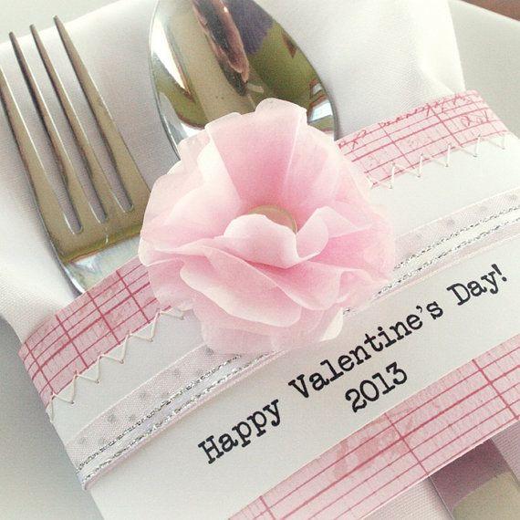 valentine day napkin rings