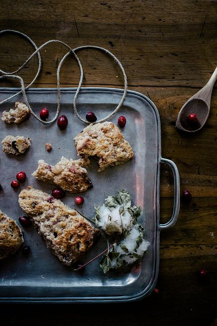 roasted pear & cranberry chocolate chunk scones by Beth Kirby | {local ...