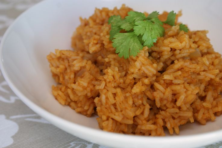 Basic Mexican Rice | Yummy food | Pinterest