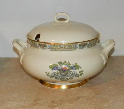 Lenox Autumn Large Serving Bowl Soup Tureen   eBay