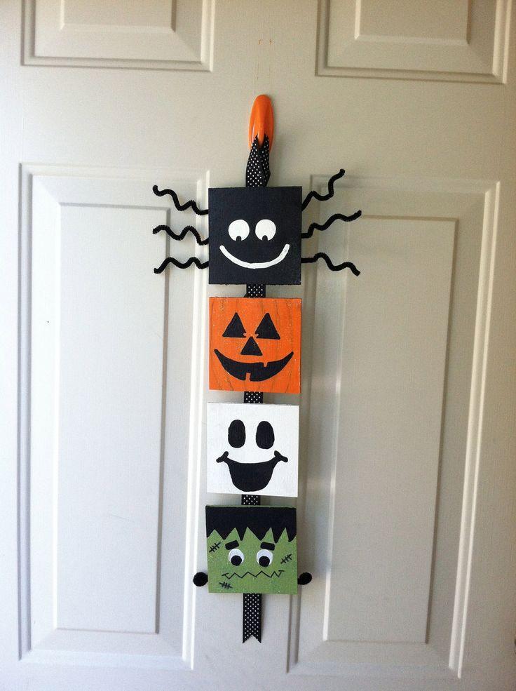 Halloween Door Decoration Holidays Pinterest