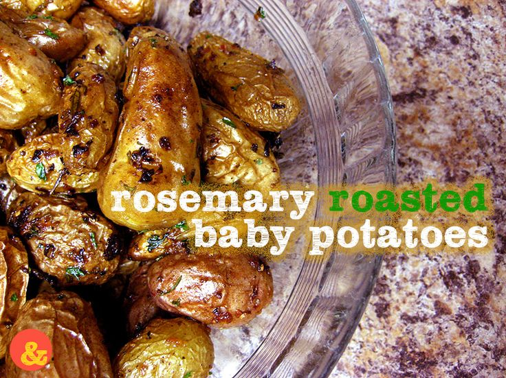 Roasted Baby Potatoes: Crispy and salty little roasted fingerling ...