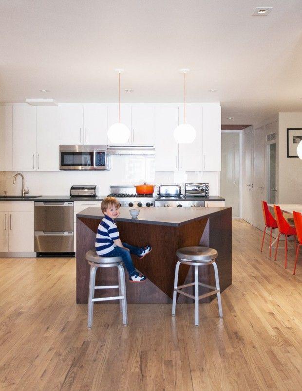 Loft in ny by modu architects kitchen pinterest
