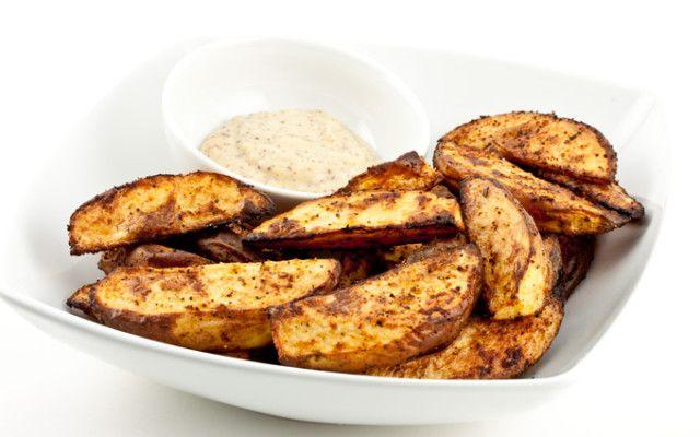 Roasted Potato Wedges | Vegan Eatin' | Pinterest