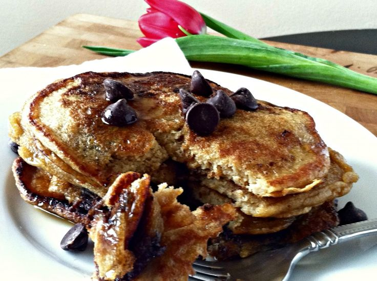Whole Wheat Chocolate Chip Pancakes | French Toasts, Pancakes and Oth ...