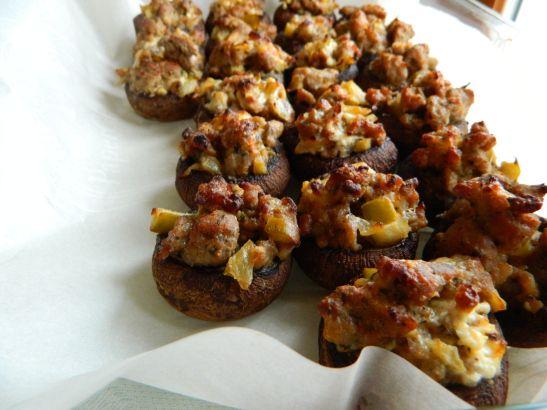 stuffed mushrooms hazelnut and turkey sausage stuffed mushrooms ...