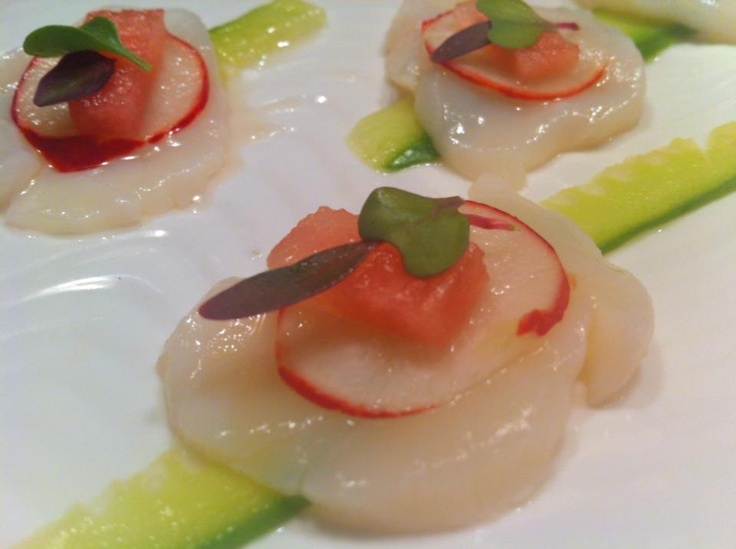 Scallop ceviche | See(sea)Food | Pinterest