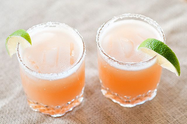 Pink grapefruit margaritas-1 by acupofmai, via Flickr