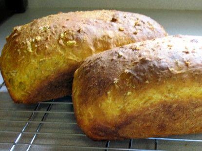 Oatmeal Pumpkin Bread - my favorite homemade bread!