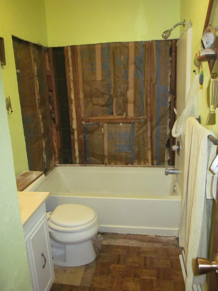 Old Tub Bathroom Makeover Pinterest