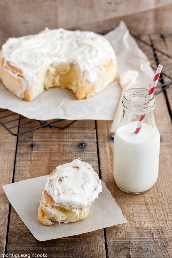 Overnight Cinnamon Buns | Products | Pinterest