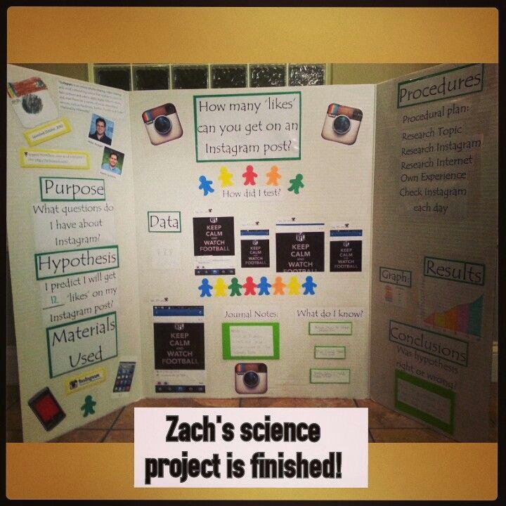 Instagram science project 2014 | ☆ Fun ideas for school ...