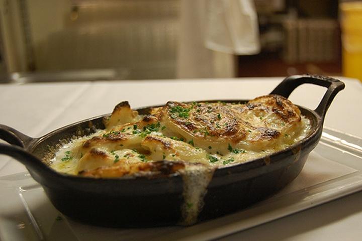 Yukon Gold and Sweet Potato Gratin | Making Tonight | Pinterest