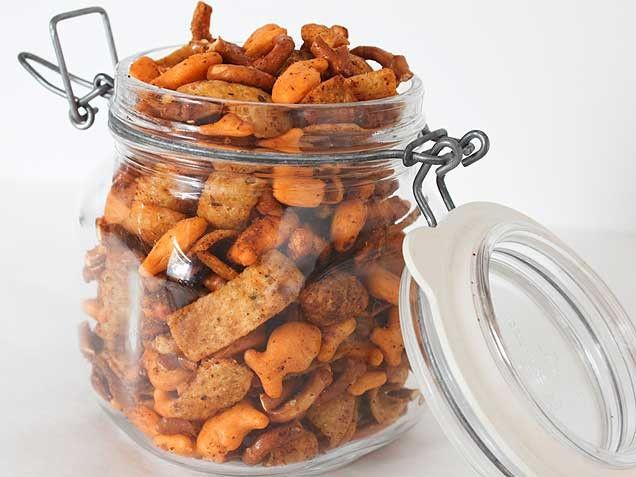 Goldfish Fiesta Snack Mix   Recipe