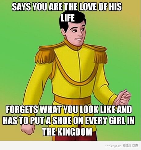 And that's supposed to be Prince Charming?