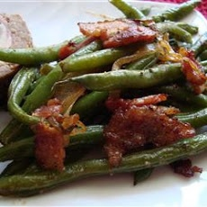 Smothered Green Beans | Check out what's for BLD&D | Pinterest