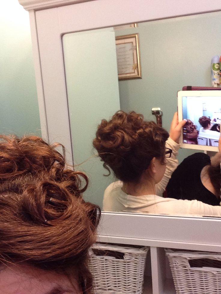 Apostolic pentecostal hairstyle :) | Cute hairstyles :) | Pinterest