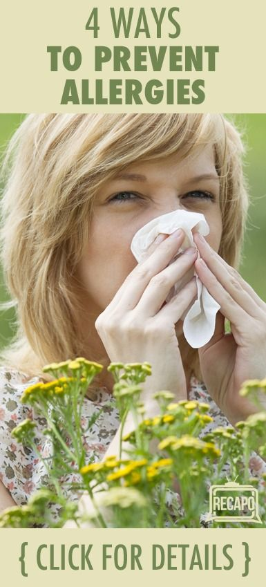 Immune system attacks ragweed like it is a threat and then you get
