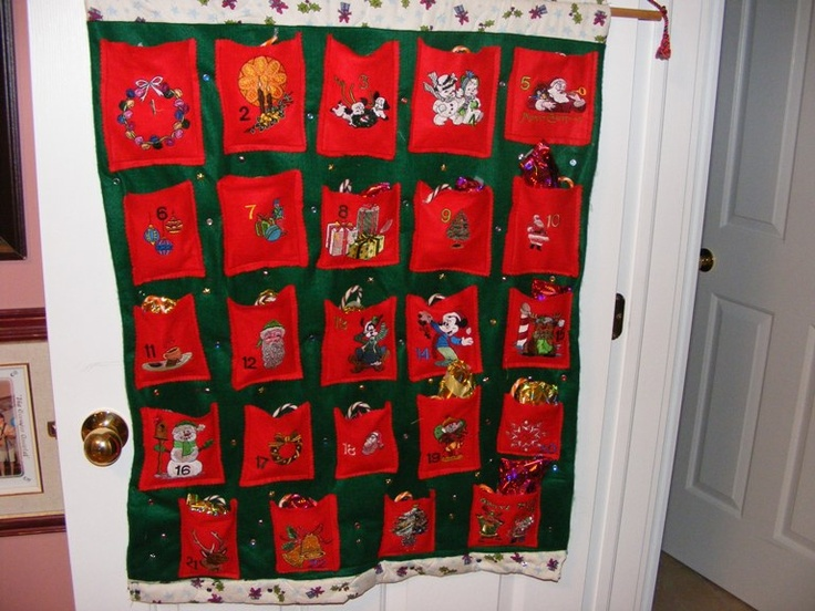 Advent calendar for granson quilting sewing pinterest for Pinterest advent