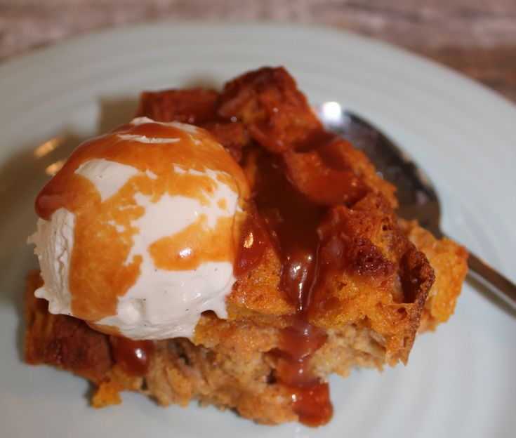 Pumpkin Bread Pudding #EmerilsHoliday