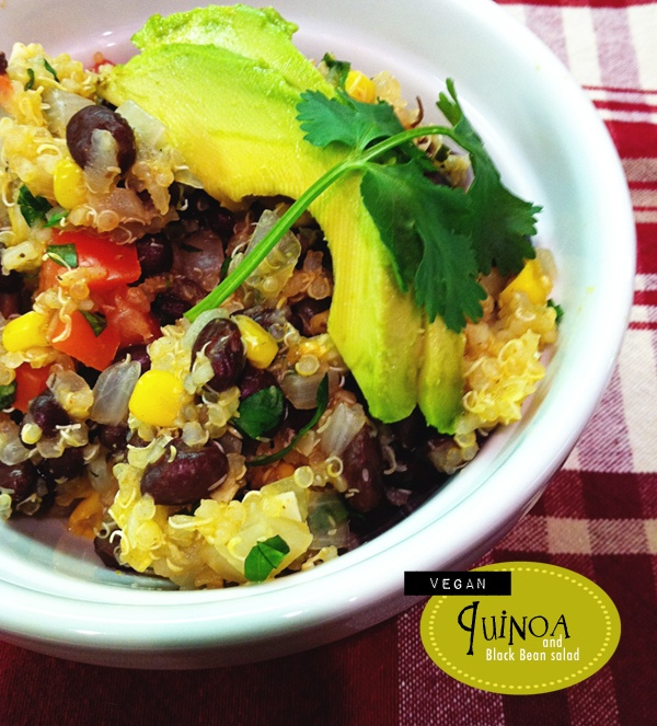 Vegan Quinoa and Black Bean Salad | If I Ever Learn To Cook | Pintere ...