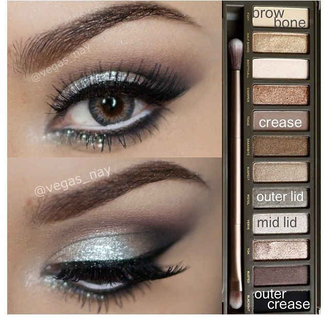 Urban decay palette 2 looks