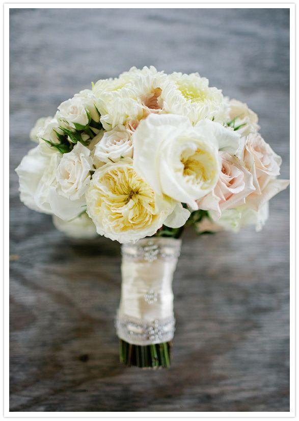 garden rose bouquet/100 layer cake