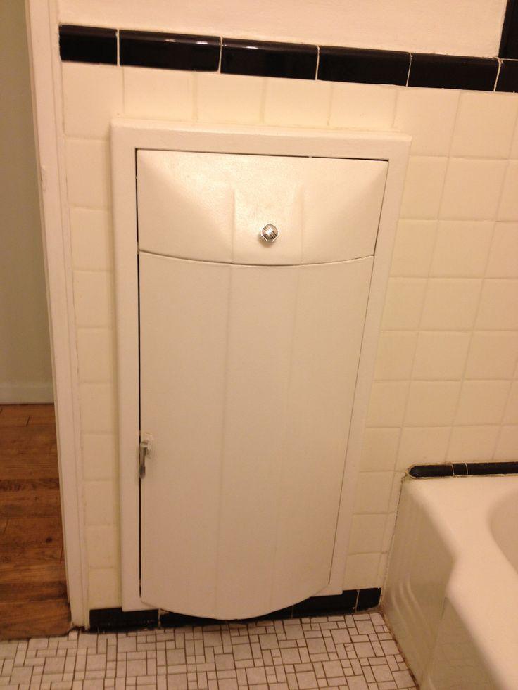 Master Bathroom Built In Hamper Rooms With Baths Pinterest