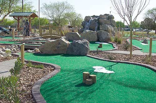 mini golf course in my backyard mini golf pinterest