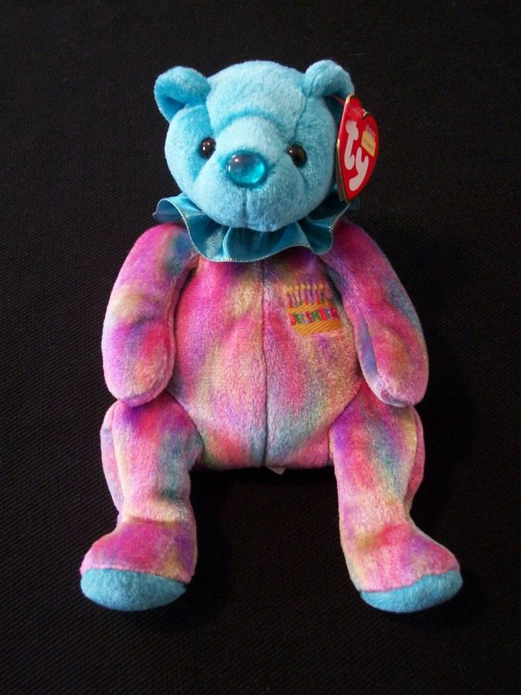 TY BEANIE BABY 2001 December Birthday Bear. This is a Retired Birthstone Bear with Original Tags. Excellent Pre-Owned Condition! $6.95 obo (Free S&H)