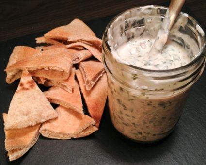 Swiss Chard Tzatziki (Yogurt Dip) Recipe — Dishmaps
