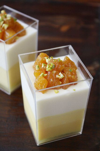 ... roasted pineapple white chocolate mousse passionfruit mousse